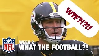 3 Worst Plays (Week 2) | WTF: What the Football?! | NFL Now