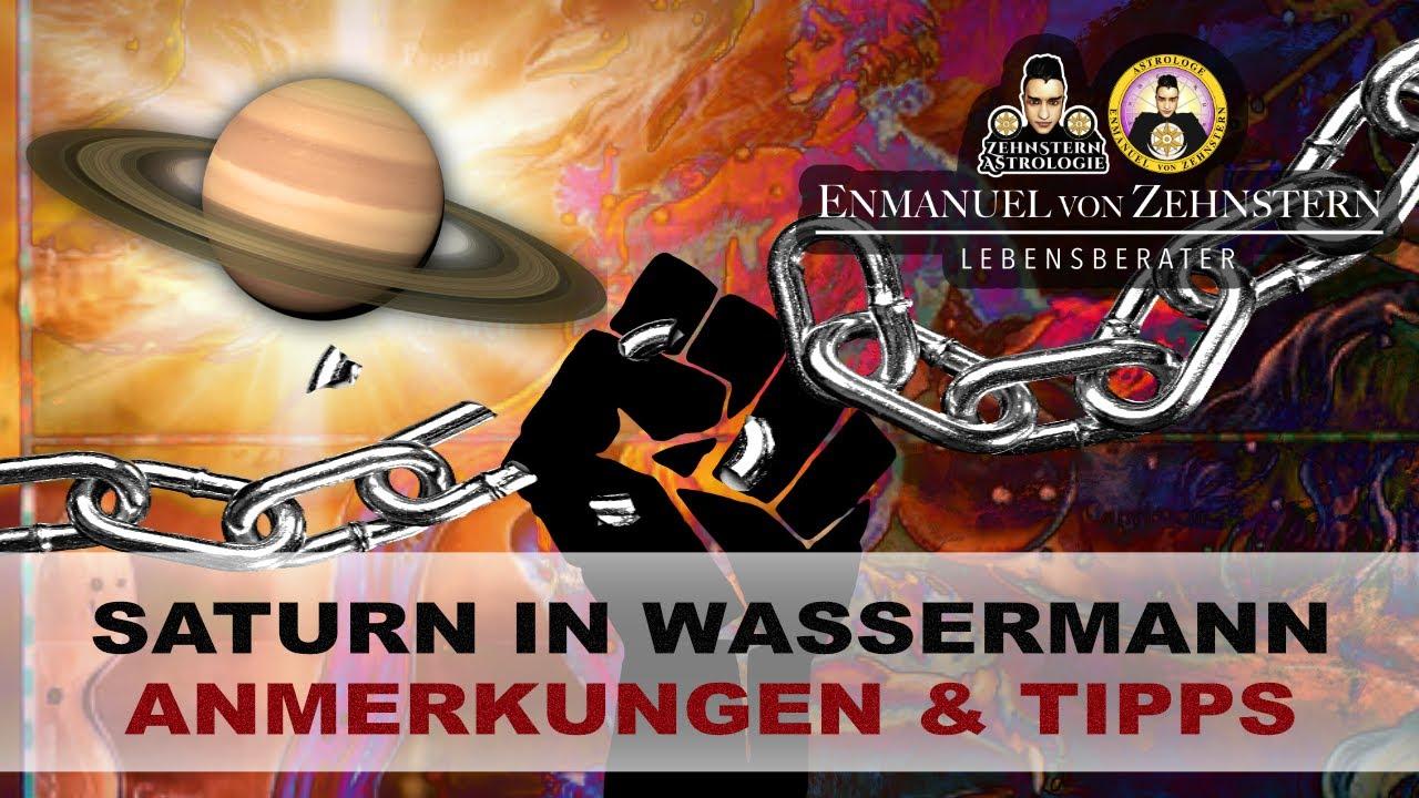 2021 Anmerkungen zu Saturn in Wassermann + nützliche Tipps💡