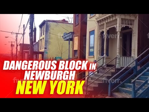 Gone Forever once a dangerous Block in Newburgh New York
