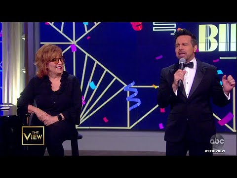 Mario Cantone Surprises Joy Behar  | The View