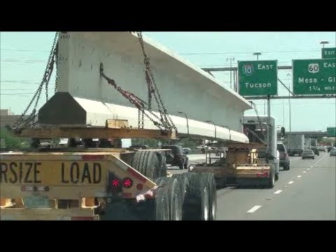 Hauling parts to build a new Highway