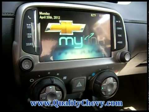 2013 Chevrolet Camaro Black Ss Mylink Radio Youtube