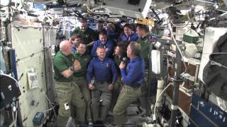 STS-133 Discovery - Flight Day 11 - Farewell Ceremony