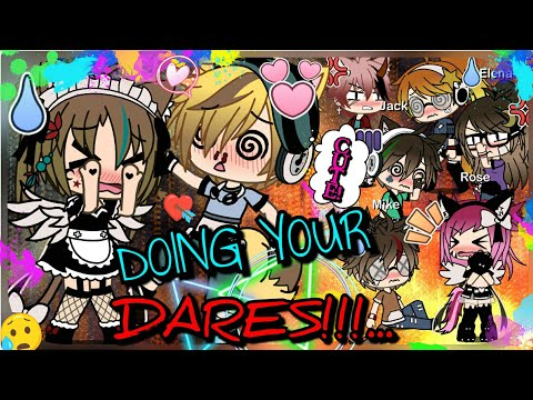 DOING YOUR DARES!! || (50+ Dares!!) - Gacha Life