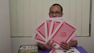 Unboxing Giant Playing Cards