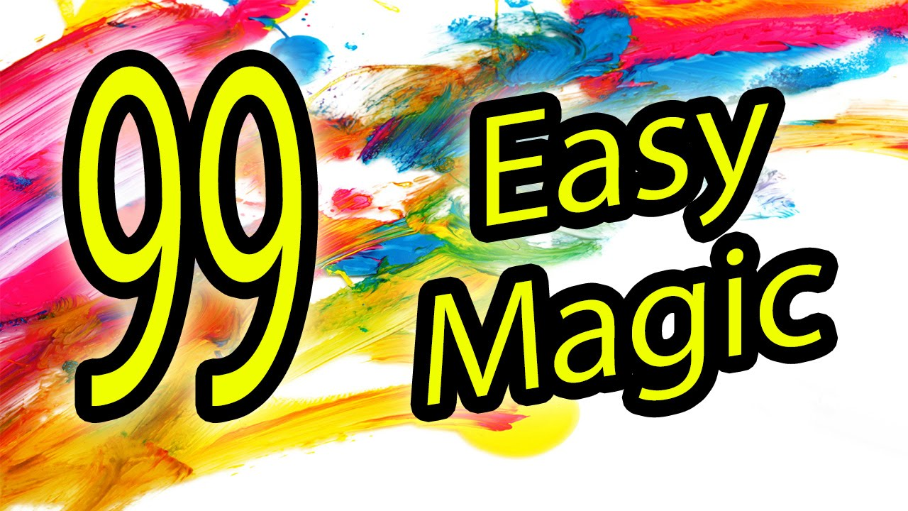 99 Easy magic Tricks to do at home - YouTube
