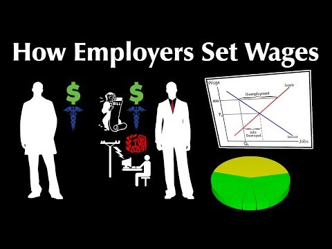 How Employers Set Wages