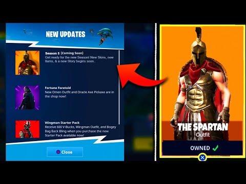 *NEW* SEASON 5 SKINS & THEME LEAKED! - Fortnite Battle Royale Season 5 Battle Pass Info