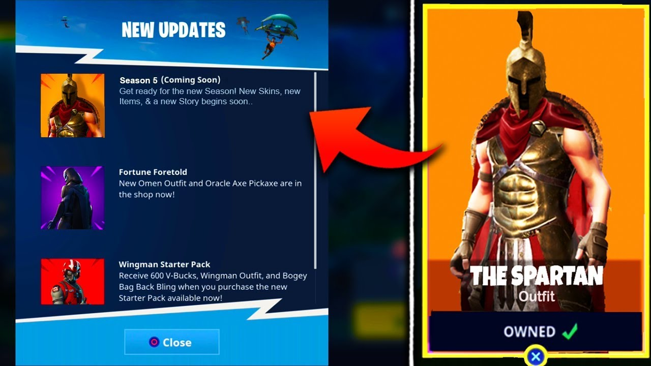 New Season 5 Skins Theme Leaked Fortnite Battle Royale Season