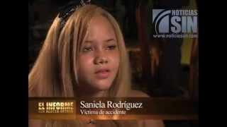 Saniella siete años después del salvaje atropello que le costó una pierna