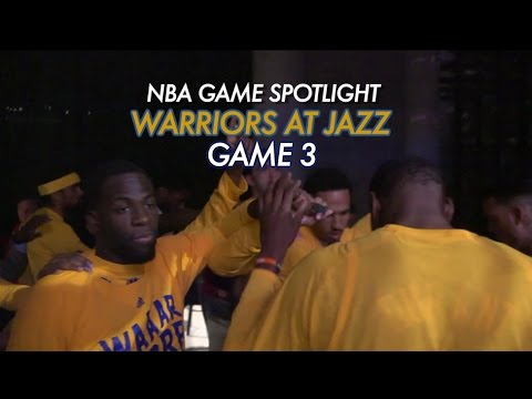NBA Game Spotlight: Warriors at Jazz Game 3