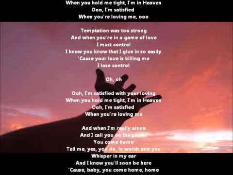 Polly Cutter - I'm Satisfied - with karaoke lyrics