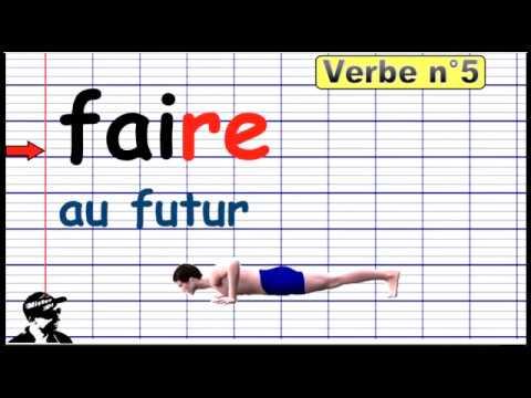 Conjuguer Faire Au Futur 2019 Youtube