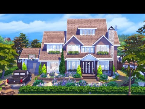 Rustic Outlook || The Sims 4 Family Home - Speed Build