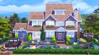 Rustic Outlook    The Sims 4 Family Home - Speed Build