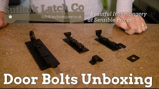 Door Bolts Unboxing and Information