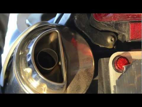 Comparing BMW F650 Rotax engine and stock exhaust on Classic Funduro and F650GS motorcycle