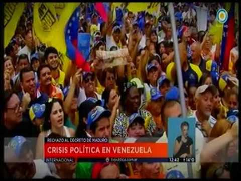 Crisis Politica en Venezuela - Television Publica Noticias Internacional