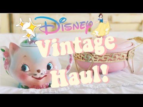 HUGE Vintage Haul! Disney, Records & MORE! Vintage Walt Disney Haul!