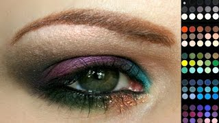 WSITN: Arabic - Pick & Mix Eyeshadow Look Thumbnail