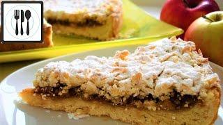 ЯБЛОЧНЫЙ ПИРОГ рецепт - Насыпной пирог с яблоками и корицей/Elmali tart