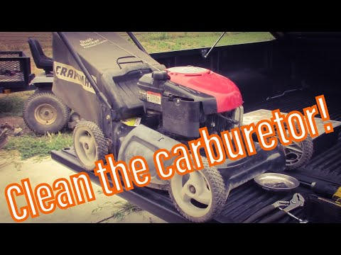 Fixing a Craftsman EZ Start Auto Choke Mower