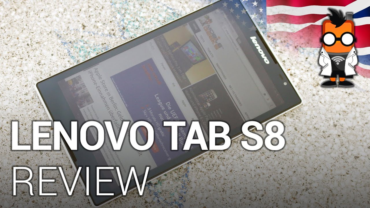 Lenovo Tab S8 Video Review