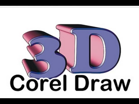 Corel Draw 3D Extrusion Hilfe deutsch