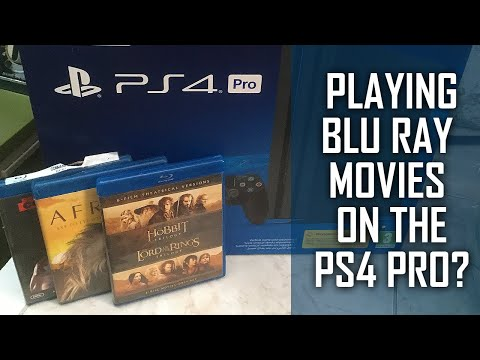 Playing Blu Ray Movies On The PS4 Pro