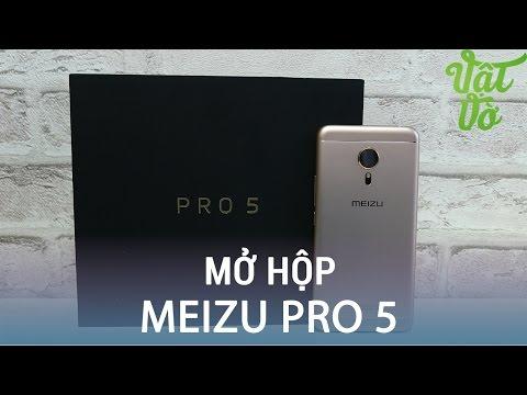 Vật Vờ| Mở hộp & đánh giá nhanh Meizu Pro 5: có tai nghe, giá tốt, cấu hình cao