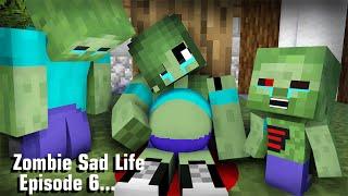 видео: Zombie Sad Life Episode 6 - Minecraft Animation