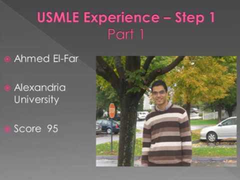 USMLE Step 1 experience Ahmed ElFar part 1