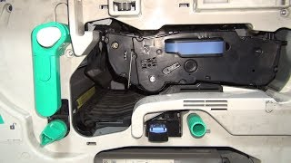 Unboxing and test of Black Board C8543X Toner cartridge replacement for HP LaserJet 9040 9050