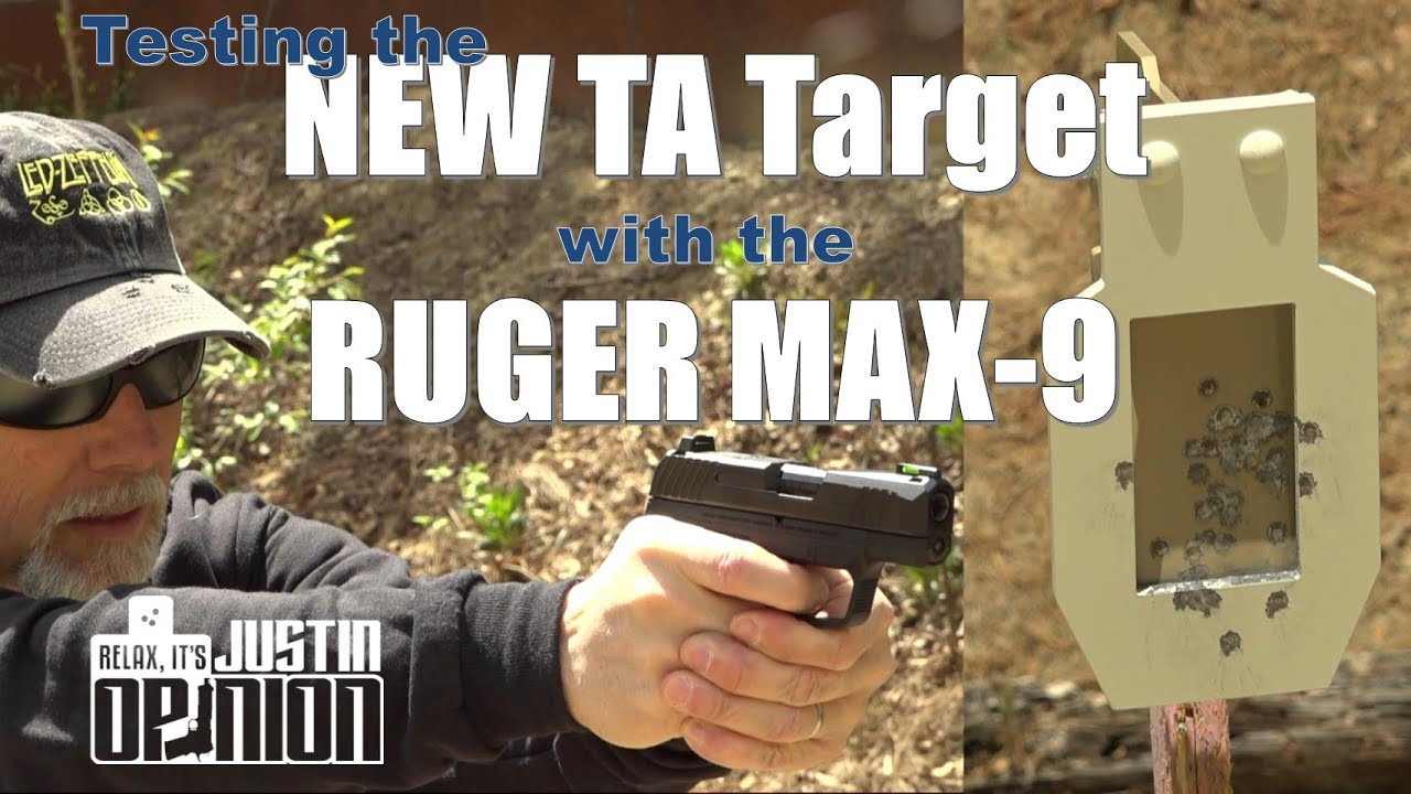 TA's New Mini Vital Zone Target vs. Ruger MAX-9