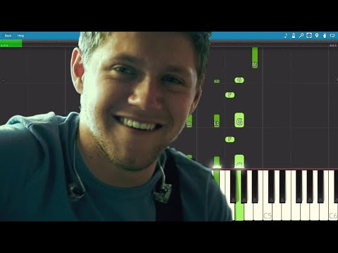 Niall Horan - Flicker - Piano Tutorial
