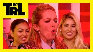 'Happy Death Day' Star Jessica Rothe Plays 'Wheel-o-Screams' | Weekdays at 3:30pm | #TRL