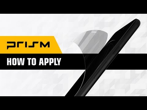 How To Apply A Dbrand Prism Screen Protector