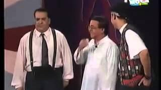 خروج عن النص احمد آدم و رامز جلال و صلاح عبدالله
