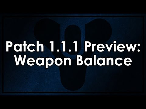 Destiny Patch 1.1.1 Preview: Weapon Balance (Autos/Fusions nerfed, Pulse Rifles buffed)