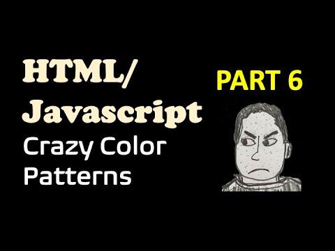 HTML / Javascript- Color Pattern