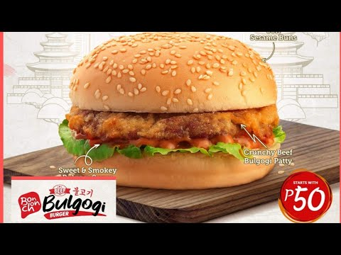 BONCHON Beef Bulgogi Burger Honest Review #46