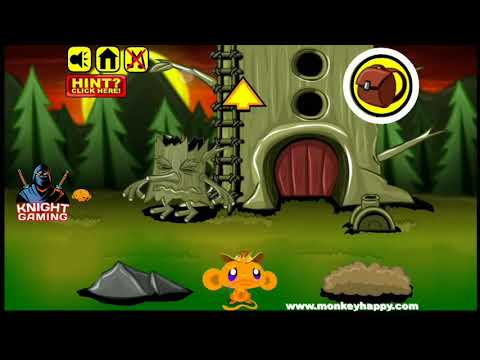 Monkey Go Happy Stage 7 Gameplay Walkthrough Solution How To Solve? Answer #7