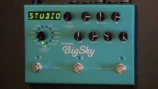 Strymon BigSky Review - BestGuitarEffects.com