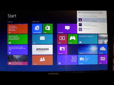 Windows 8 - How to view DVD movies on your computer
