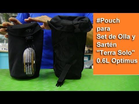 "#Pouch para Set de Olla y Sartén ""Terra Solo"" 0.6L Optimus"