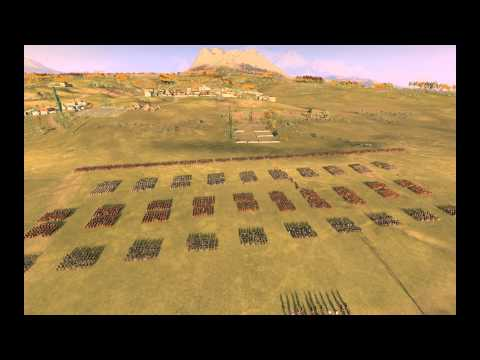 rome 2 project realism: real numbers' roman legion and tactics