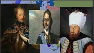 Prut Savaşı || 1711 || 2D Tarih