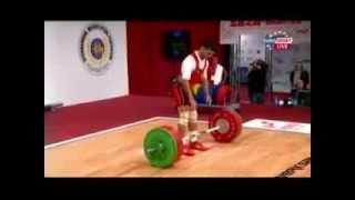 Чемпионат мира по тяжелой атлетике 2013!Мужчины 56 кг! Толчок