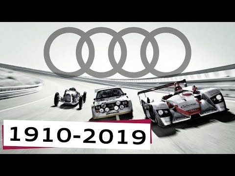 All Audi Models 1910-2019 Audi History All Audi Cars Evolution of Audi