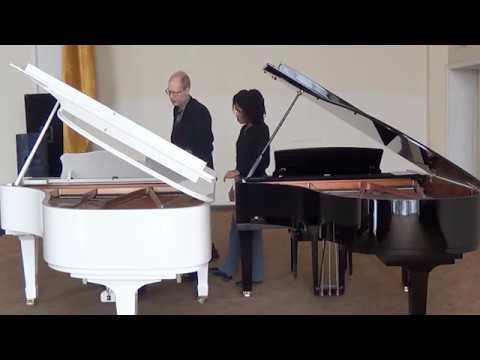 The Piano Master Class of Professor the University of Illinois at Urbana-Champaign, Rochelle Sennet.